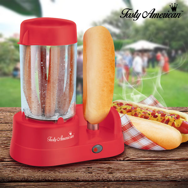 Hot Dog Machine Appetitissime Tasty American 300W Red