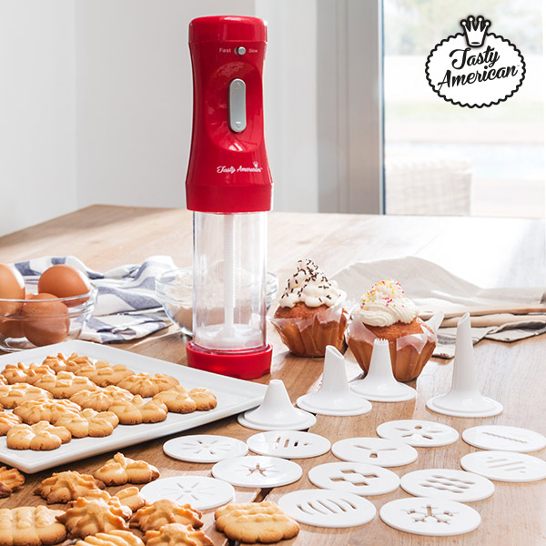 Tasty American Biscuit Maker and Accessories