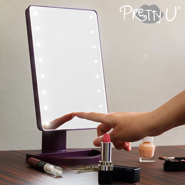 Pretty U Tabletop LED Mirror