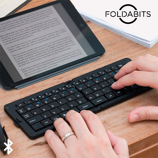 Foldabits Folding Bluetooth Keyboard