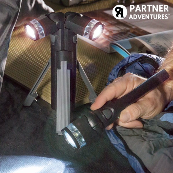 Total Torch 3 in 1 LED Torch with Tripod