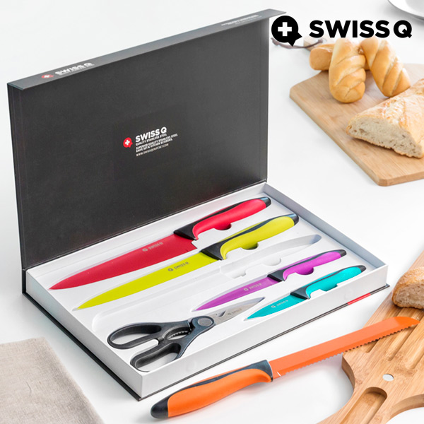 Swiss Q High Quality Stainless Steel Knives (6 pieces)