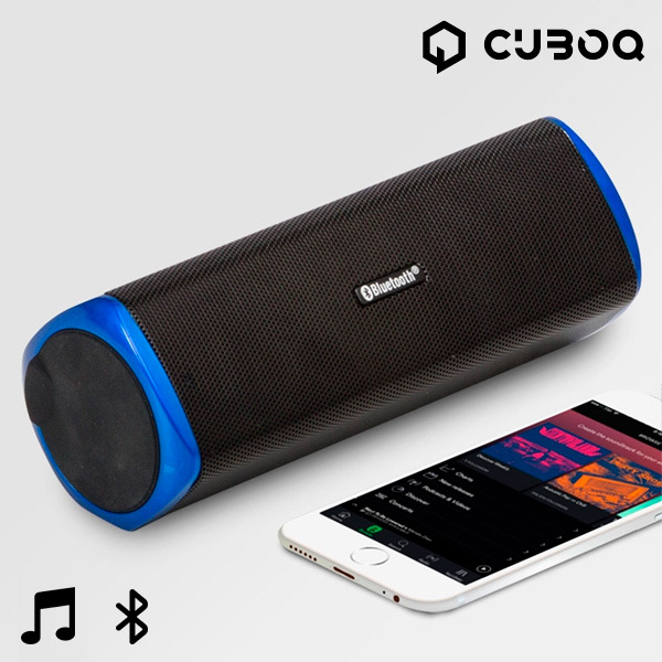 CuboQ Power Bank Bluetooth Speaker