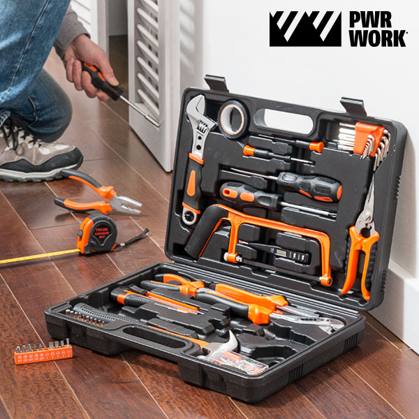 PWR Work Tool Case (108 pieces)