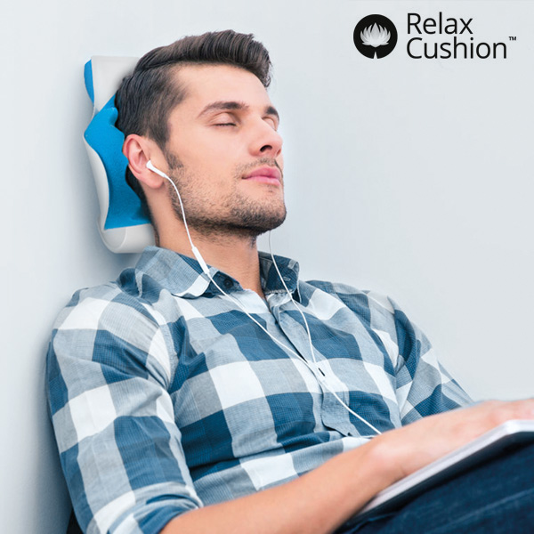 Relax Cushion Cervical Support with Anti-stress Pillow