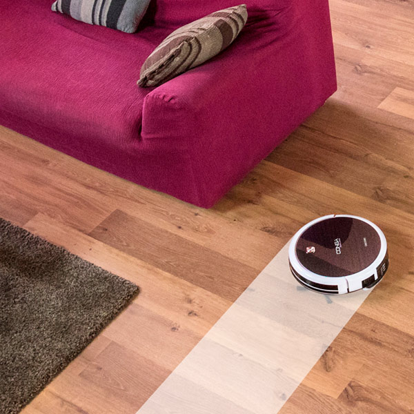 Robot Vacuum Cleaner with Mop and Water Tank Cecoclean Excellence 5040 0,3 L 25W Grey White