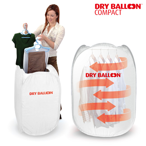 Portable Clothes Dryer Thermic Dynamics Dry Balloon Compact 800W White