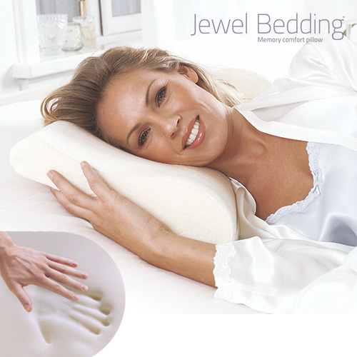 Jewel Bedding Memory Foam Neck Pillow