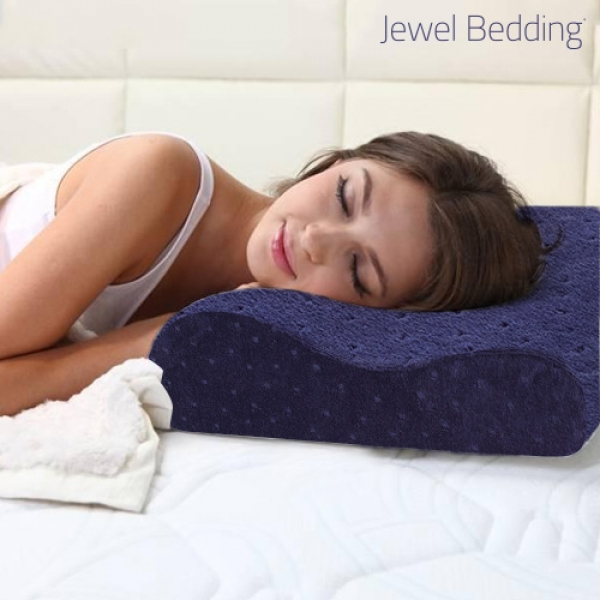 Jewel Bedding Memory Foam Pillow with Case