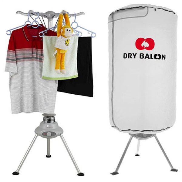 Portable Clothes Dryer Thermic Dynamics Dry Balloon 1000W White